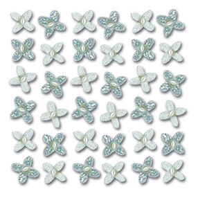 Wedding Gem Flowers Stickers_SPJB529