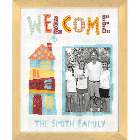 Welcome Home, Counted Cross Stitch_70-35349