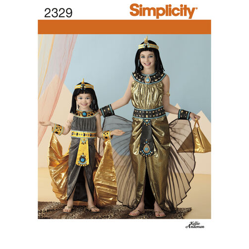 Simplicity Pattern 2329 Child's & Girls' Costumes