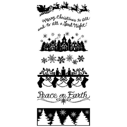 Holiday Silhouette Clear Stamps_60-30984
