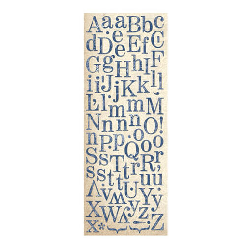 Blue Awning Two-Sided Die-Cut Alphabet Stickers_567146