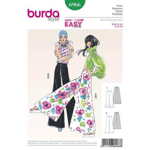 Burda Style Pattern 6966 Vintage