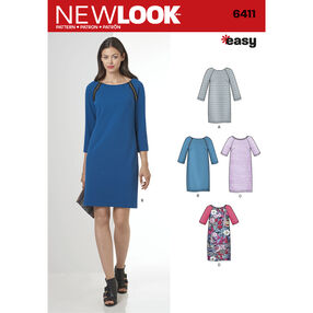 Misses' Easy to Sew Shift Dress