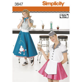 Simplicity Pattern 3847 Misses' Costumes