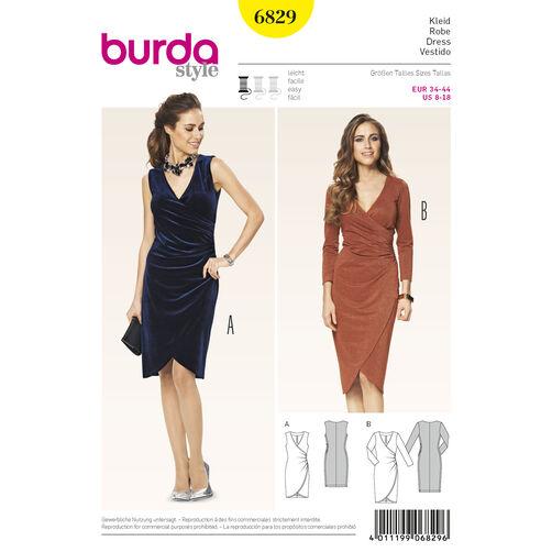 Burda Style Pattern 6829 Dresses