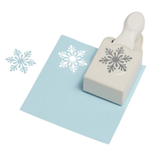 Scandanavian Snowflake Large Craft Punch_42-30012