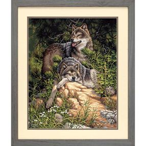 Wild & Free Wolves, Paint by Number_91416