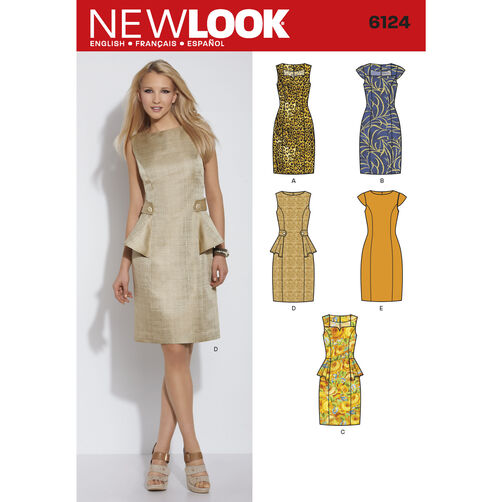 New Look Pattern 6124 Misses' Dress