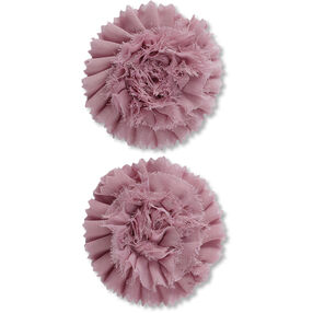 Light Lilac Pleated Flower Embellishments_50-60367