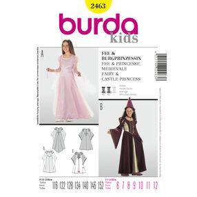 Burda Style Pattern 2463 Fairy & Castle Princess
