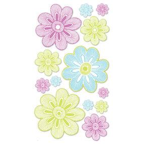 Neon Flowers Vellum Stickers_SPP1VEL09