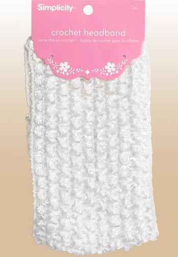 """Baby Crochet Headband 2-3/4"""""""