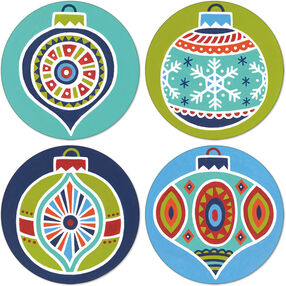 Holiday Ornament Coasters, Paint by Number_73-91506