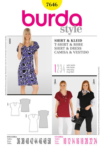 Burda Style, Shirt & Dress