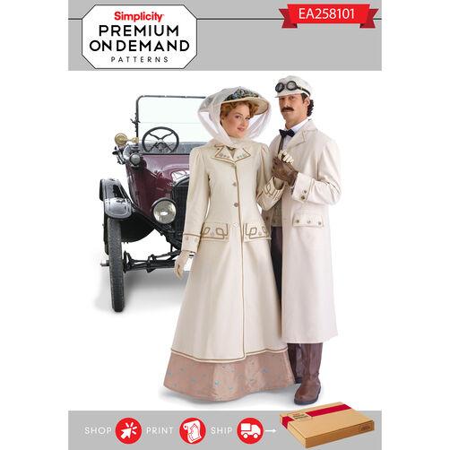 Ea258101 premium print on demand costume pattern for Premium on demand