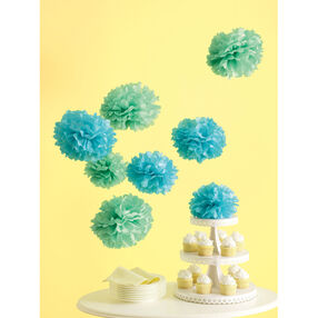 Medium Blue Pom-Poms_44-10168