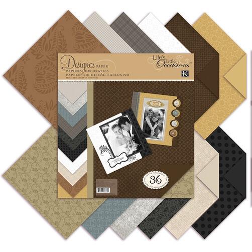 Neutrals Designer Paper Pad_30-588691