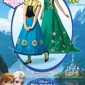 Disney's Frozen Fever Misses' Costumes