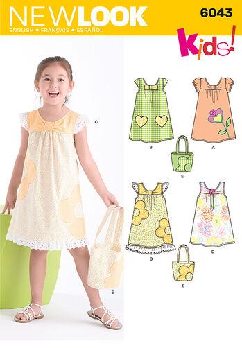 Child's Dress & Bag