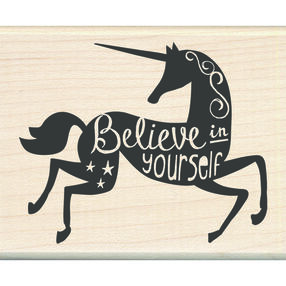 Believe in Yourself Wood Stamp_60-01074