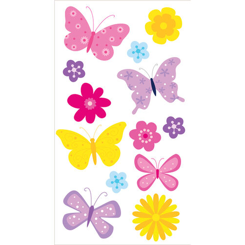 Butterflies Vellum Stickers_50-50096