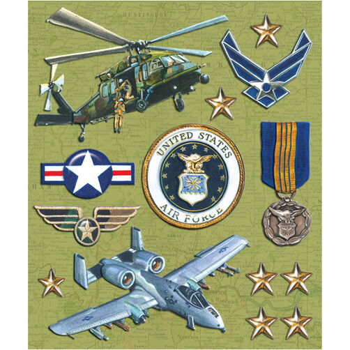Air Force Sticker Medley_30-588004