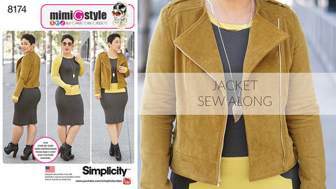 Mimi G Simplicity Pattern 8174 Sew-Along for Jacket