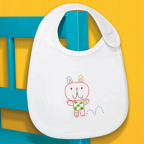 Bunny Bib in Embroidery_70-73960