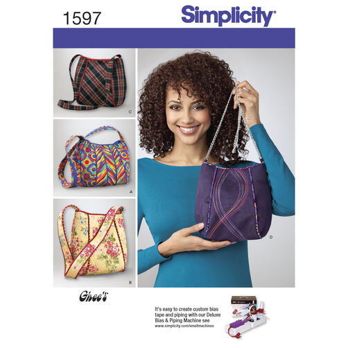 Simplicity Pattern 1597 Bags