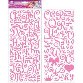 Princess Glitter Felt Alphabets_53-50002