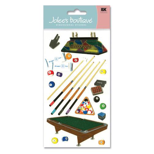 Jolee's Boutique Billiards Stickers_SPJBLG220