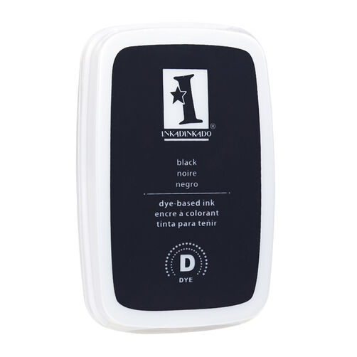 Dye Ink Value Pad-Black _61-10012