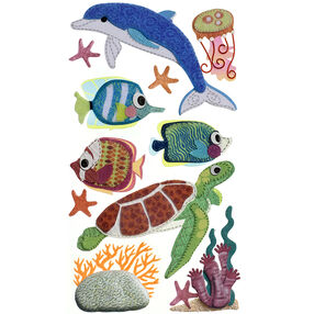 Felt Sea Life Stickers_50-50641