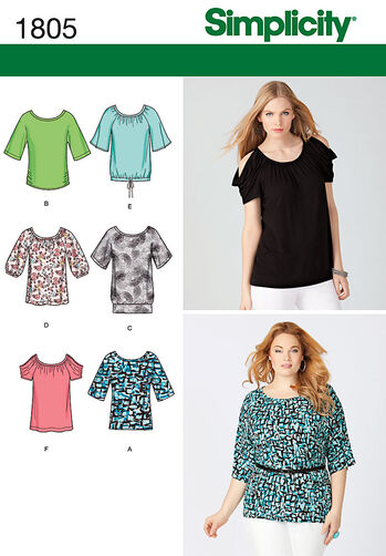 Misses' & Plus Size Knit Tops