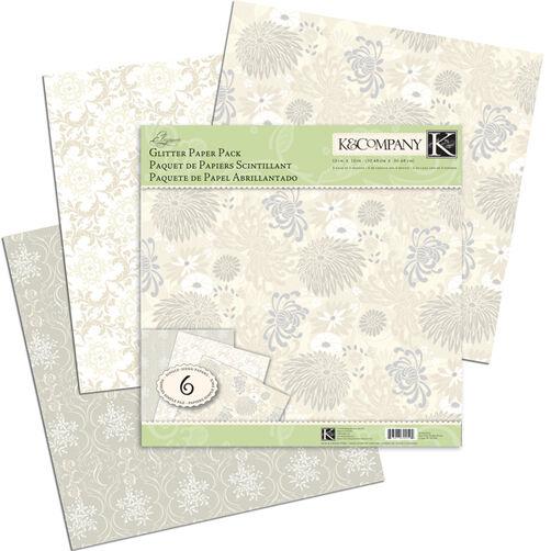 Elegance Glitter Paper Pack _30-302594