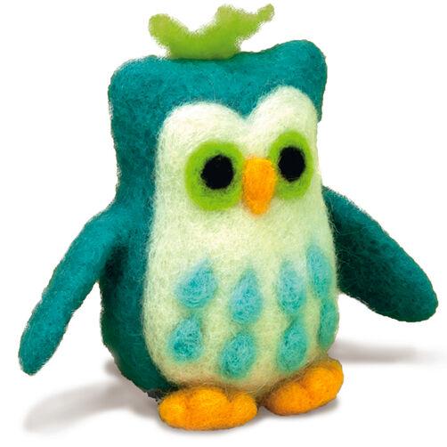 Owl Felted Character Needle Felting Kit_72-73798