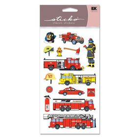 Fire Department Classic Stickers_SPSG160