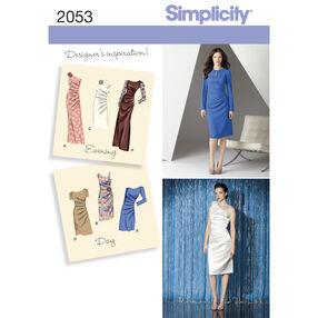 Simplicity Pattern 2053 Misses' Dresses