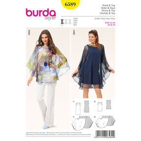 Burda Style Pattern 6589 Dress and Top