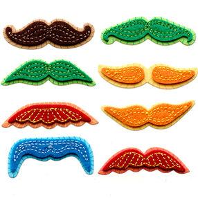 Mini Colorful Moustaches Stickers_50-21305