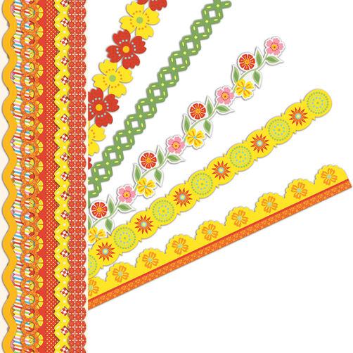 Lemon Citron Adhesive Borders_30-595200
