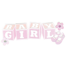 Baby Girl Title Stickers_SPJT226