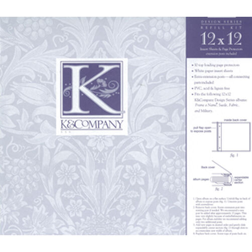 Refill Kit for 12x12 Albums_K12DPAGE
