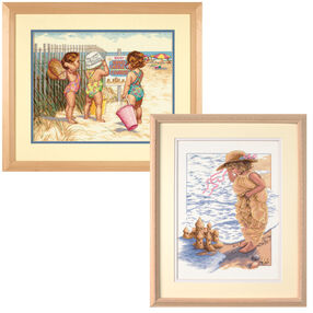 Beach Babies Bundle, Counted Cross Stitch_180617