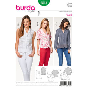Burda Style Pattern B6533 Misses' Blouse