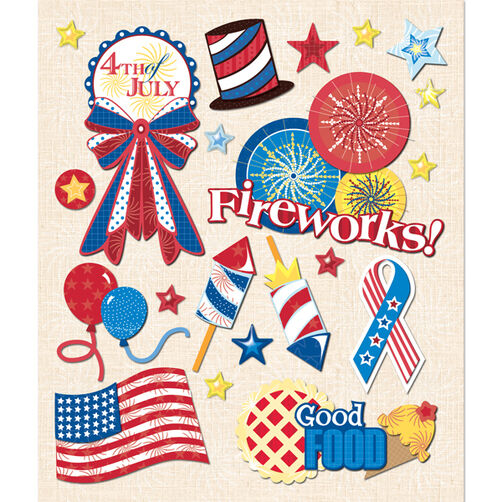 4th of July Sticker Medley_30-588097