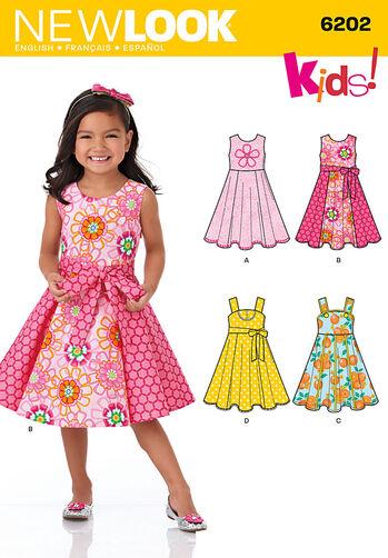Child's Dress and Sash