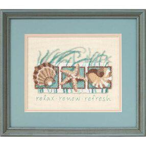 Seashells, Punch Needle Embroidery_73152