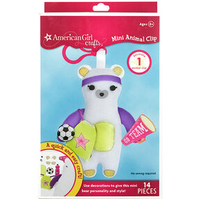 Bear Mini Animal Clip_30-682993