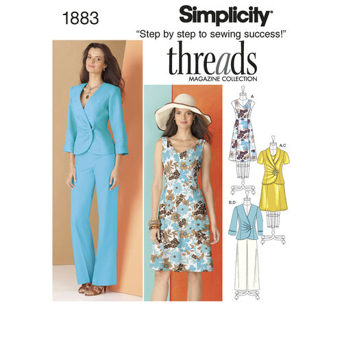 Simplicity Pattern 1883 Misses' Sportswear